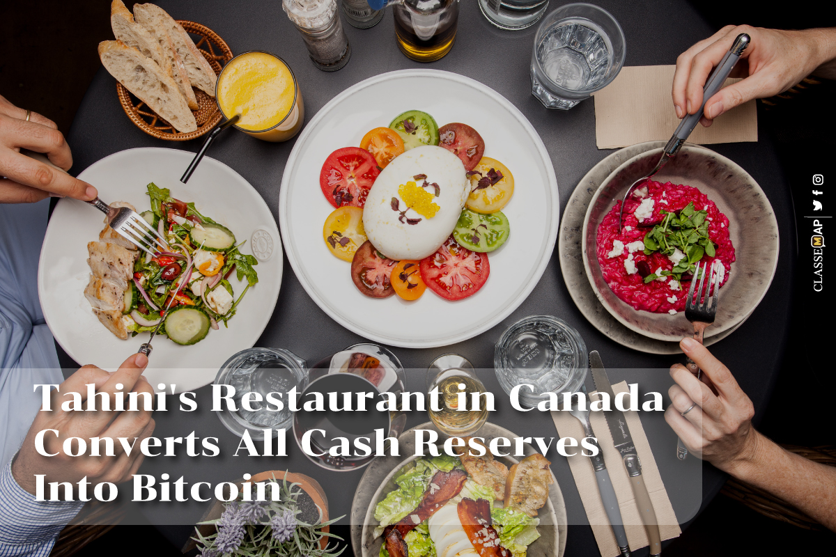 thahi's restaurant in Canada converts all cash reverves into bitcoin