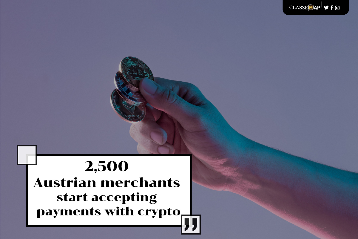 2500 austrian merchants start acccepting payments with crypto